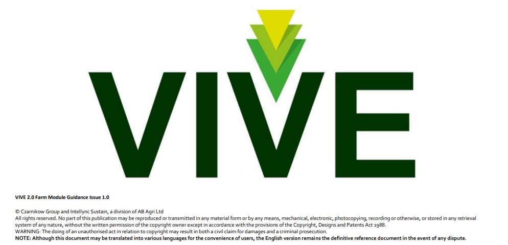 VIVE 2.0 Sustainable Supply Programme Launch